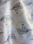 Entourloupe licornes - détail du tissu