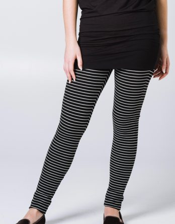 Leggings Mila rayés, devant