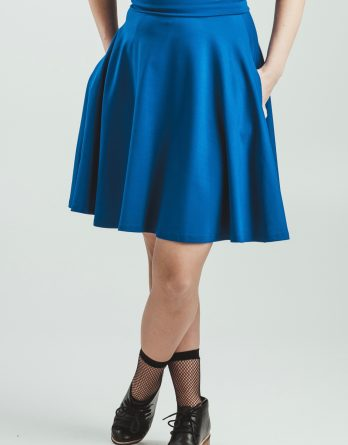Jupe Carlotta bleue