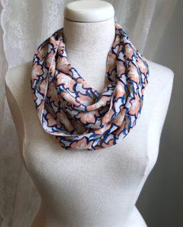 foulard entourloupe - art déco