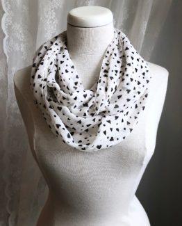foulard entourloupe - coeurs