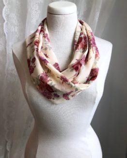 foulard entourloupe - fleuri d'antan