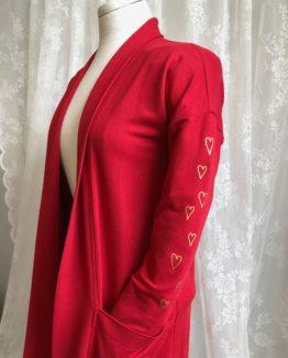 Maud rouge - détail